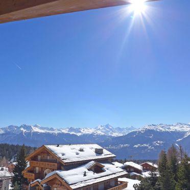 Außen Winter 67, Luxuschalet Chanson im Wallis, Crans-Montana, Wallis, Wallis, Schweiz