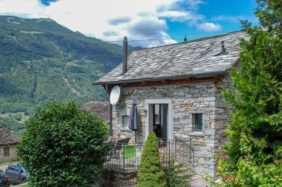 Außen Sommer 1 - Hauptbild, Rustico Ca'di Garoi im Tessin, Malvaglia, Tessin, Tessin, Schweiz