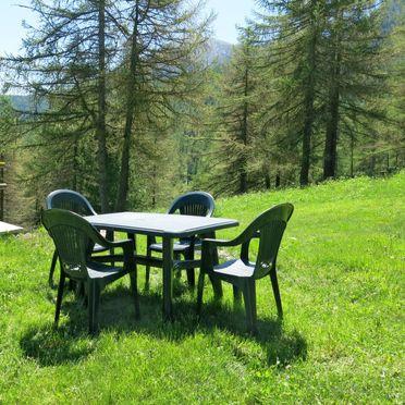 Außen Sommer 2, Chalet Casot Brusa, Sampeyre, Piemonte-Langhe & Monferrato, Piemont, Italien
