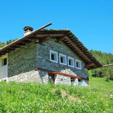 Außen Sommer 3, Chalet Casot Brusa, Sampeyre, Piemonte-Langhe & Monferrato, Piemont, Italien