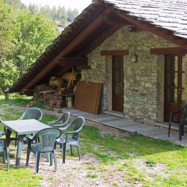 Außen Sommer 3, Casa pra la Funt, Sampeyre, Piemonte-Langhe & Monferrato, Piemont, Italien