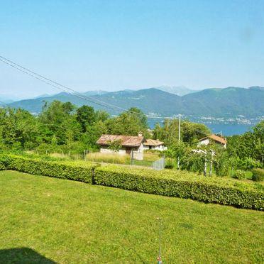 Außen Sommer 5, Chalet Gallina, Castelveccana, Lago Maggiore, Lombardei, Italien