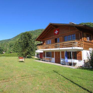 Außen Sommer 2, Chalet Gallina, Castelveccana, Lago Maggiore, Lombardei, Italien