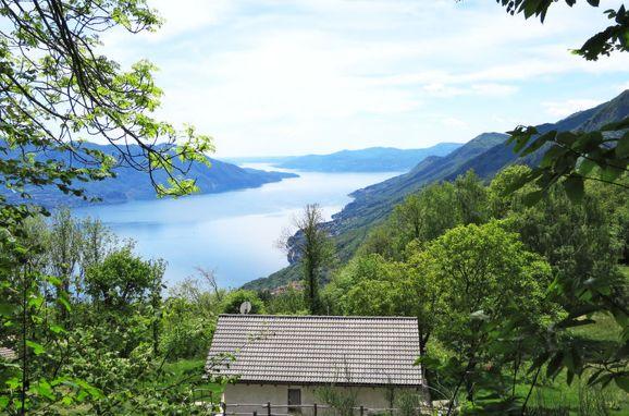 Außen Sommer 1 - Hauptbild, Chalet Baita Checc, Cannero Riviera, Trarego-Viggiona (VB), Piemont, Italien