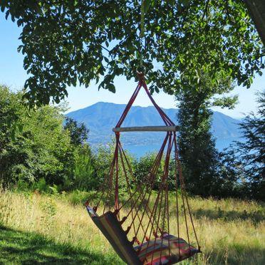 Außen Sommer 5, Chalet Baita Checc, Cannero Riviera, Lago Maggiore, Piemont, Italien