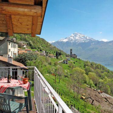 Außen Sommer 2, Chalet Antonia, Gravedona, Comer See, Lombardei, Italien