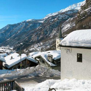 Außen Winter 19, Rustico Plen Solei, Valtournenche, Valtournenche, Aostatal, Italien