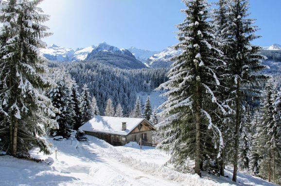 Außen Winter 31 - Hauptbild, Chalet Baita El Deroch, Predazzo, Fleimstal, Trentino-Südtirol, Italien