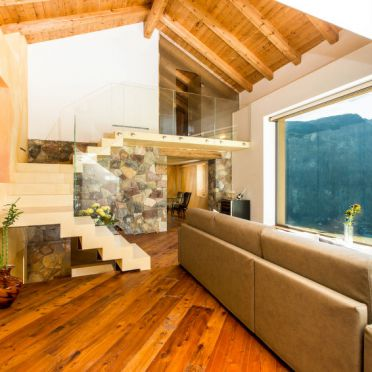 Innen Sommer 4, Chalet Paradise, Predazzo, Fiemme Valley, Trentino-Südtirol, Italien