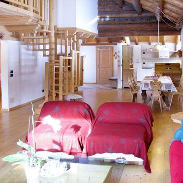Innen Sommer 3, Chalet Tabia, Predazzo, Fleimstal, Trentino-Südtirol, Italien