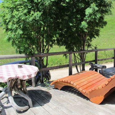 Außen Sommer 2, Chalet Baita Medil, Moena, Dolomiten, Trentino-Südtirol, Italien