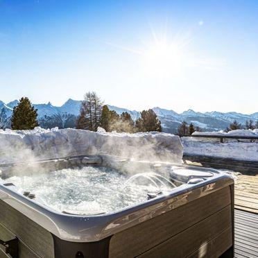 Außen Winter 27, Chalet Lusia, Moena, Fassa Valley, Trentino-Südtirol, Italien
