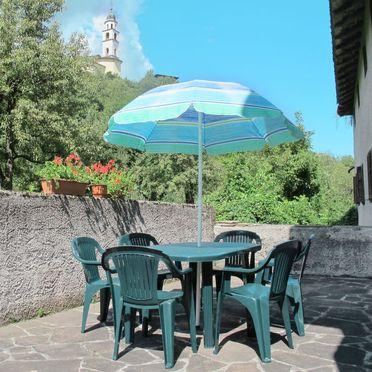 Innen Sommer 2, Rustico Al Mulino, Lago di Caldonazzo, Trentino-High Adige, Trentino-Südtirol, Italien
