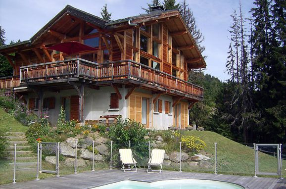 Außen Sommer 1 - Hauptbild, Chalet l'Epachat, Saint Gervais, Savoyen - Hochsavoyen, Auvergne-Rhône-Alpes, Frankreich