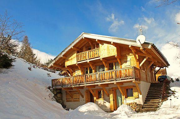 Außen Winter 25, Chalet du Bulle, Saint Gervais, Savoyen - Hochsavoyen, Auvergne-Rhône-Alpes, Frankreich