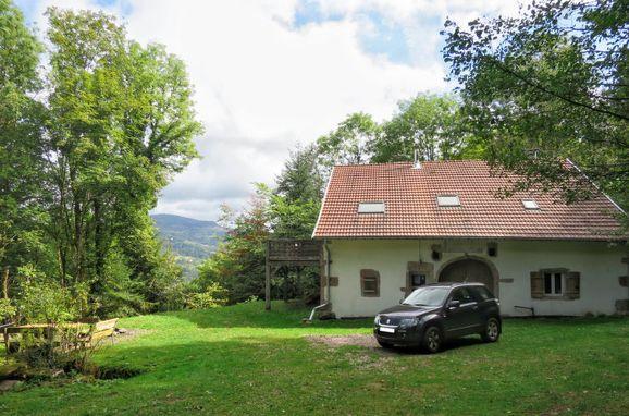 Außen Sommer 1 - Hauptbild, Chalet Escher, Thiefosse, Vogesen, Elsass, Frankreich