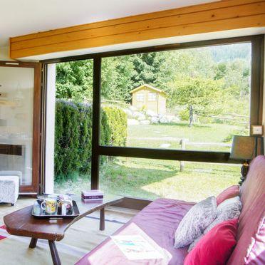Innen Sommer 1 - Hauptbild, Chalet les Pelarnys, Chamonix, Savoyen - Hochsavoyen, Auvergne-Rhône-Alpes, Frankreich
