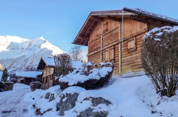 Außen Winter 16, Chalet Farfadets, Saint Gervais, Savoyen - Hochsavoyen, Rhône-Alpes, Frankreich
