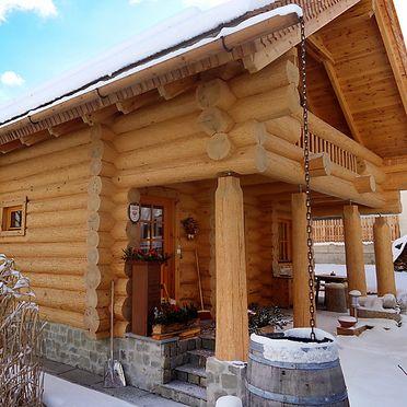 Außen Winter 30, Blockhütte Karin, Axams, Tirol, Tirol, Österreich