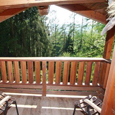 Außen Sommer 3, Chalet im Wald, Werfenweng, Pfarrwerfen, Salzburg, Österreich
