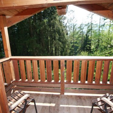 Außen Sommer 3, Chalet im Wald, Werfenweng, Pongau, Salzburg, Österreich