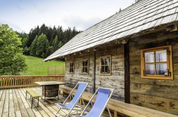 Außen Sommer 1 - Hauptbild, Chalet Panorama, Hirschegg - Pack, Hirschegg, Steiermark, Österreich