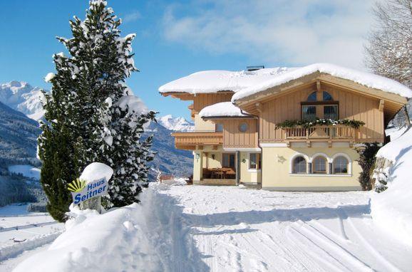 Außen Winter 1 - Hauptbild, Chalet Seitner, Bramberg am Wildkogel, Pinzgau, Salzburg, Österreich