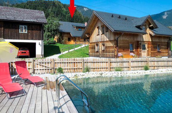 Außen Sommer 1 - Hauptbild, Chalet Grimmingblick, Gröbming, Steiermark, Steiermark, Österreich