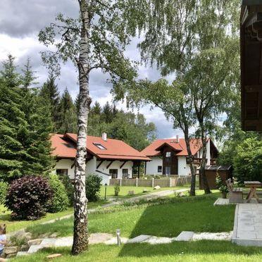 Innen Sommer 2, Chalet Birke, Bischofsmais, Bayerischer Wald, Bayern, Deutschland
