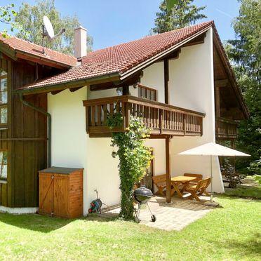 Außen Sommer 3, Chalet Birke, Bischofsmais, Bayerischer Wald, Bayern, Deutschland