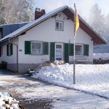 Außen Winter 22, Ferienhaus Haberlsäge, Neukirchen, Bayerischer Wald, Bayern, Deutschland