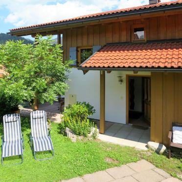 Innen Sommer 2 - Hauptbild, Ferienhütte Walchsee, Sachrang, Oberbayern, Bayern, Deutschland