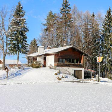 Außen Winter 32, Hütte Rustika am Wörthersee, Klagenfurt am Wörthersee, Kärnten, Kärnten, Österreich