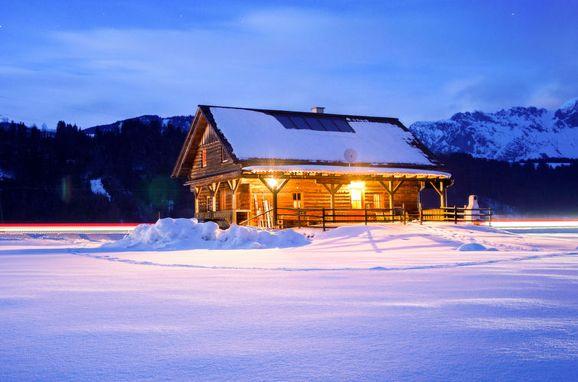 Außen Winter 16 - Hauptbild, Blockhütte Steiner, Stein an der Enns, Steiermark, Steiermark, Österreich