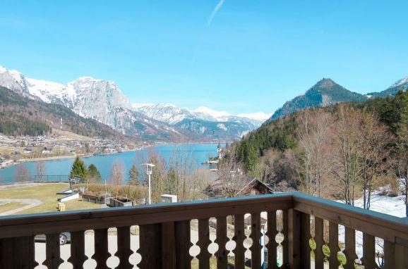 Außen Winter 3, Chalet Steirer am Grundlsee, Grundlsee, Salzkammergut, Salzburg, Österreich
