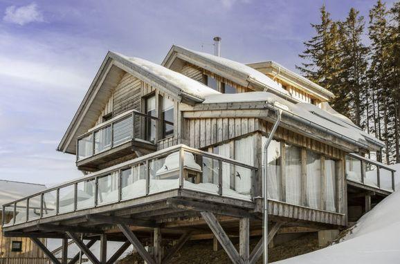 Außen Winter 37, Chalet Panorama, Klippitztörl, Kärnten, Kärnten, Österreich