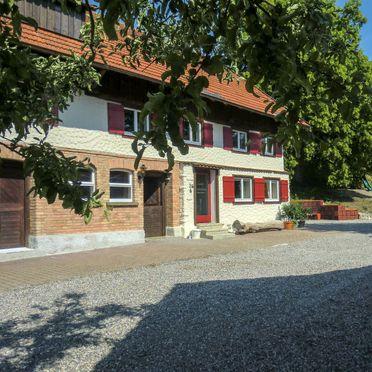 Außen Sommer 2, Ferienhaus St. Eustachius, Leutkirch, Allgäu, Bayern, Deutschland