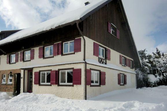 Außen Winter 22 - Hauptbild, Ferienhaus St. Eustachius, Leutkirch, Allgäu, Bayern, Deutschland