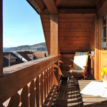 Außen Sommer 2, Schwarzwaldhaus Blank am Titisee, Titisee-Neustadt, Schwarzwald, Baden-Württemberg, Deutschland