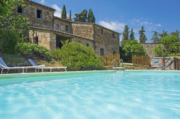 Außen Sommer 1 - Hauptbild, Villa le Bonatte, Radda in Chianti, Toskana Chianti, Toskana, Italien