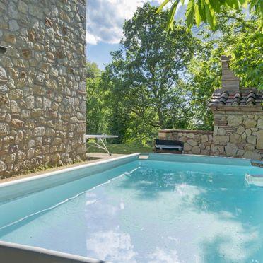 Außen Sommer 4, Casa le Fonte, Roccastrada, Maremma, Toskana, Italien