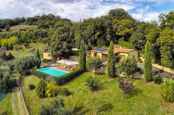 Außen Sommer 1 - Hauptbild, Villa Lustignano, Monterotondo Marittimo, Maremma, Toskana, Italien