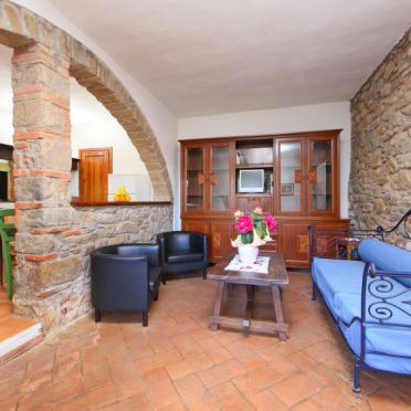 Innen Sommer 4, Appartamento Podere Berrettino, Reggello, Florenz und Umgebung, Toskana, Italien
