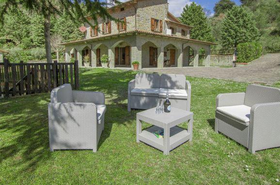Außen Sommer 1 - Hauptbild, Villa il Riccio, Cortona, Arezzo, Cortona und Umgebung, Toskana, Italien