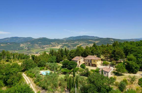 Außen Sommer 1 - Hauptbild, Villa Cafaggio di Sopra, Florenz, Florenz Stadt und Umgebung, Toskana, Italien
