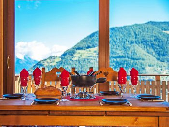 Chalet Petite-Arvine in La Tzoumaz - Wallis - Switzerland