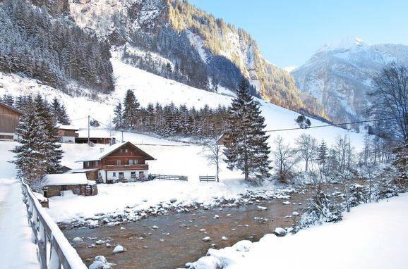 Außen Winter 15 - Hauptbild, Ferienhütte Eben, Mayrhofen, Zillertal, Tirol, Österreich