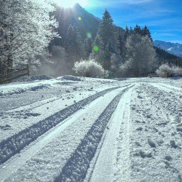 Außen Winter 16, Blockhütte Hüttl, Trins, Tirol, Tirol, Österreich