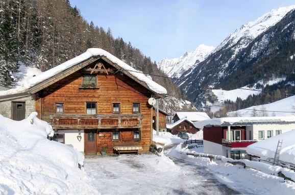 Außen Winter 21, Chalet Hannelore, Sölden, Ötztal, Tirol, Österreich