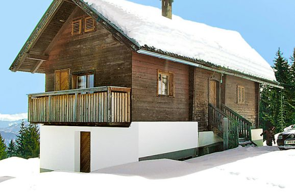 Außen Winter 11 - Hauptbild, Almhütte Wassertheureralm, Dellach, Kärnten, Kärnten, Österreich